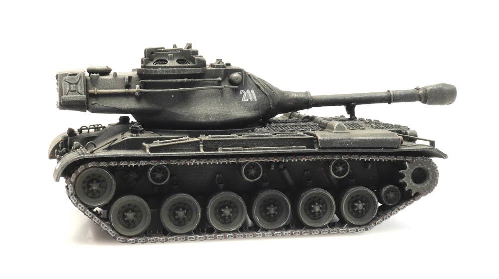 M47 Bundeswehr Eisenbahntransport