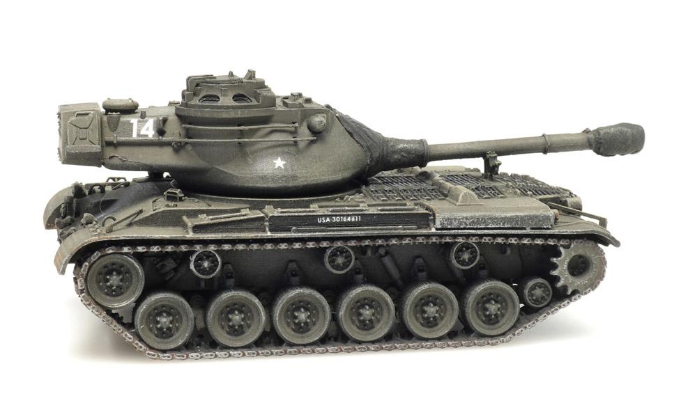 US Army M47 train load