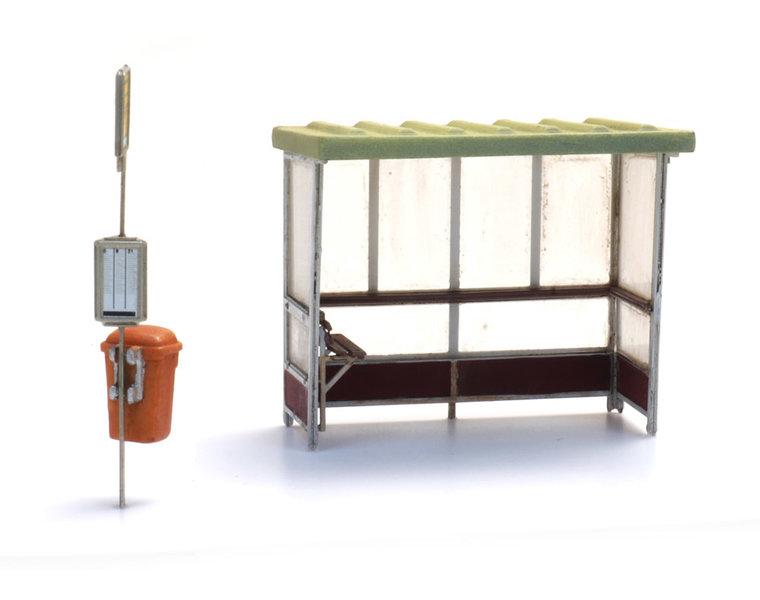 Bushaltestelle 70/80er Jahren bis heute