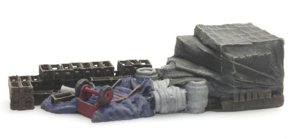 """Cargo """"Spa"""" DAF flatbed truck"""