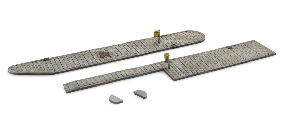 Bus boarder set (modular)