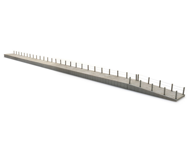 Modulare NS-Bahnsteig, Epoche III-V