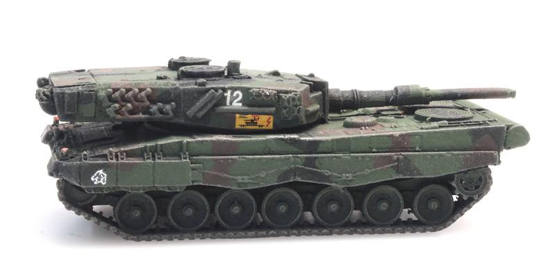 CH Pz 87 / Leopard 2A4 train load