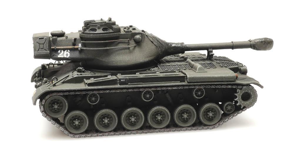 M47 Belgian Army train load