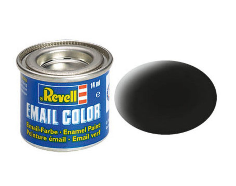 Revell 8, black, matt