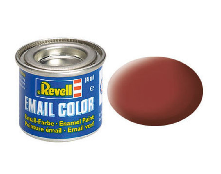 Revell 37 Dakpan-rood, mat