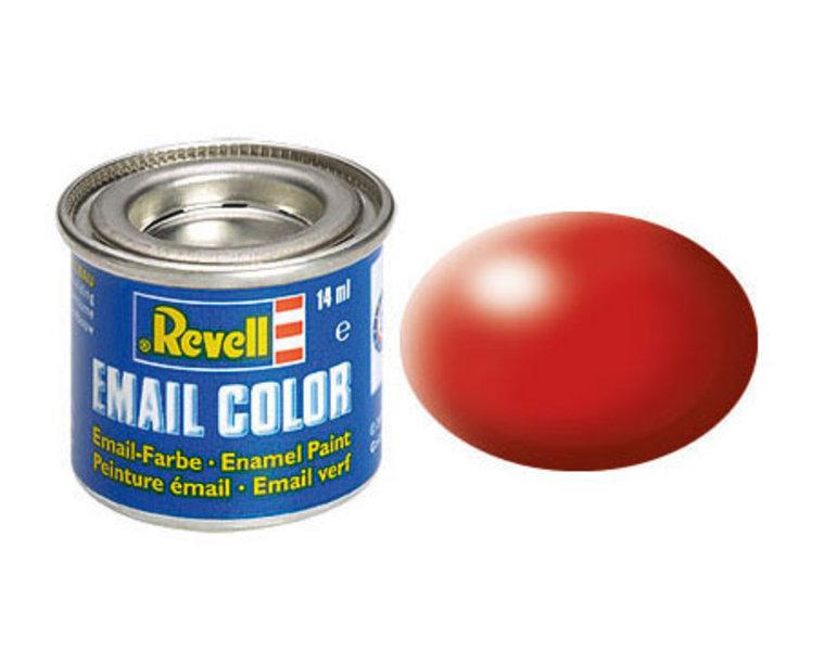 Revell 330 Vuurrood, zijdemat