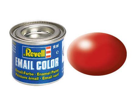 Revell 330 Fiery Red, silk