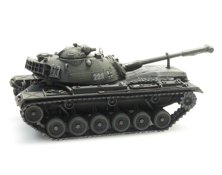 M48A2 Gelboliv treintransport