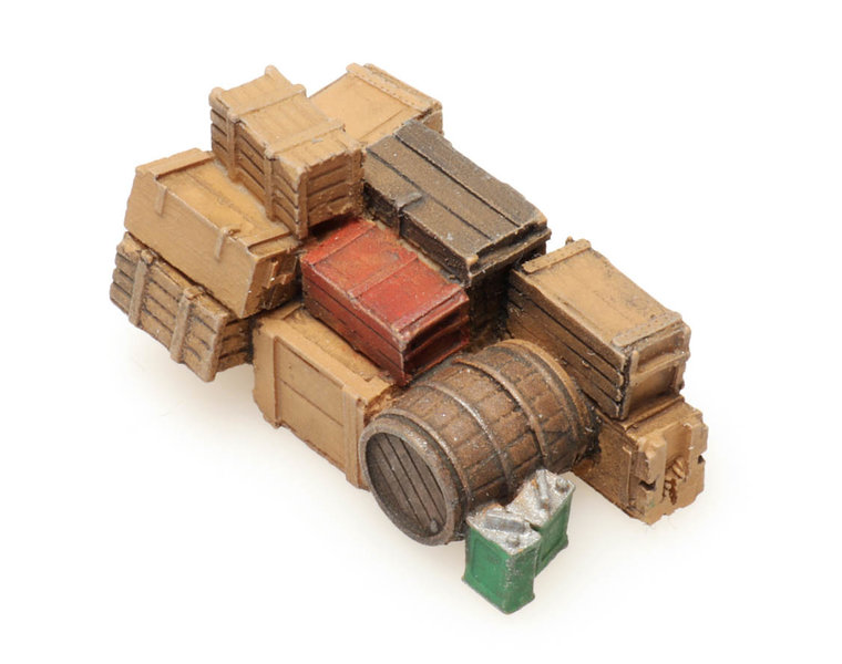 Small truck cargo: city