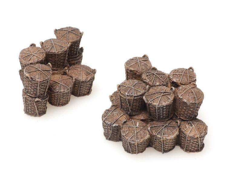 Cargo: fishing baskets
