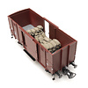 Cargo: jute sacks (27 x 11 mm + 27 x 12 mm)