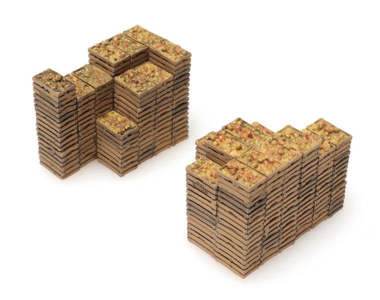 Cargo: fruit crates