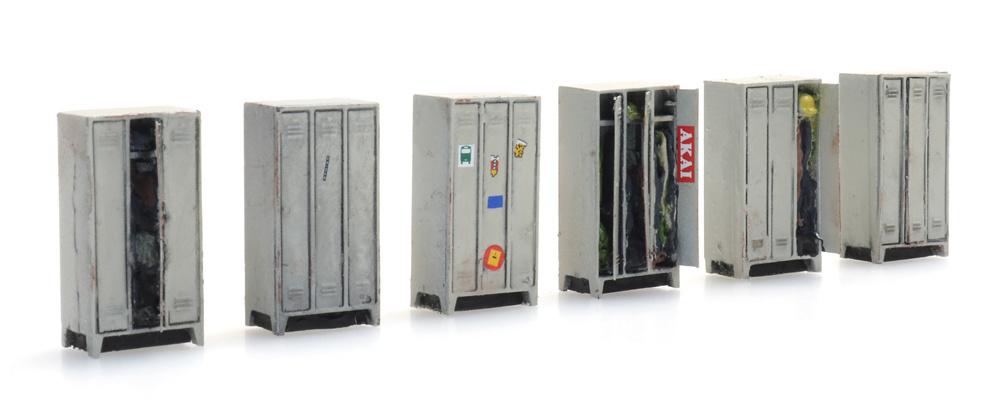 Lockers (6x)