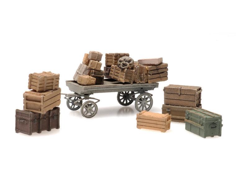 Platform cargo: general cargo with cart