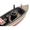 Steam launch waterline (109mm)