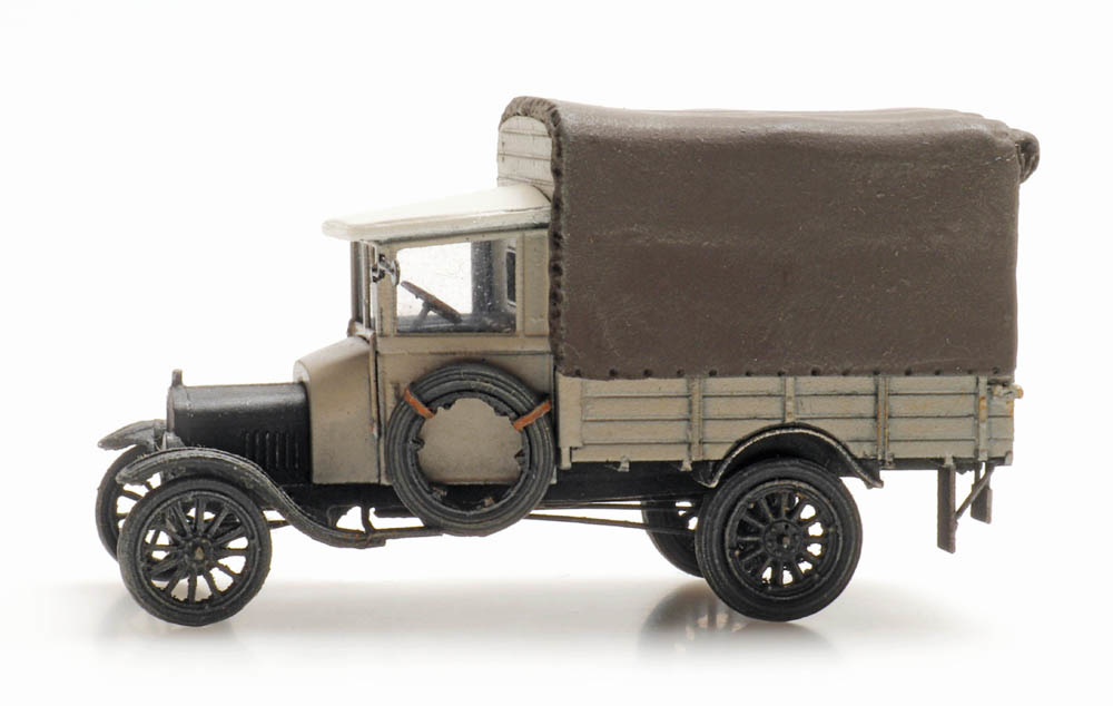 Ford TT grey with cover