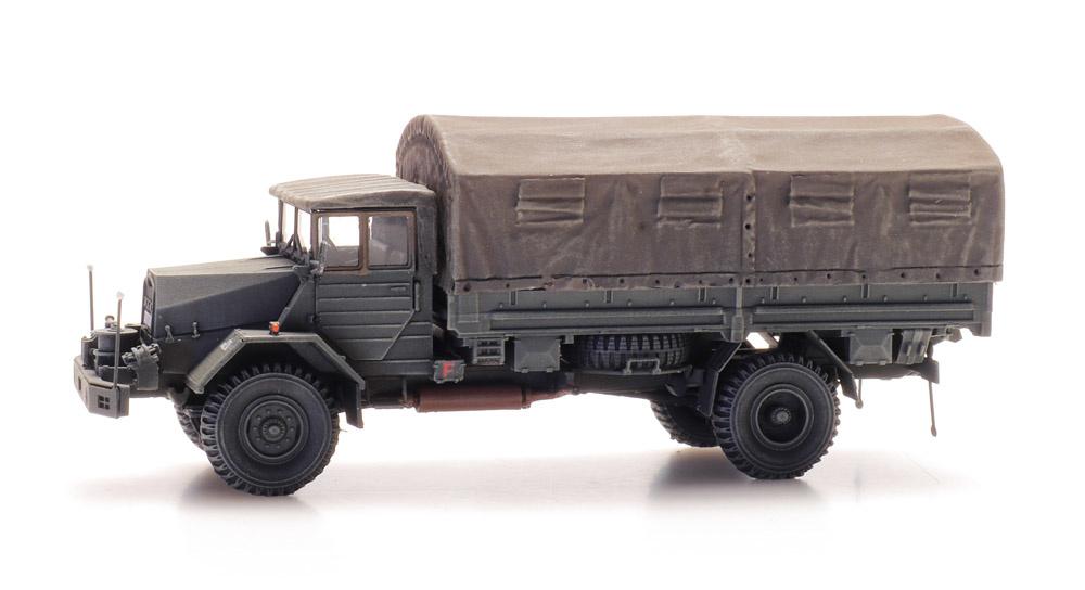MAN 630 L2 AE Cargo mit Wendevorbau Bundeswehr