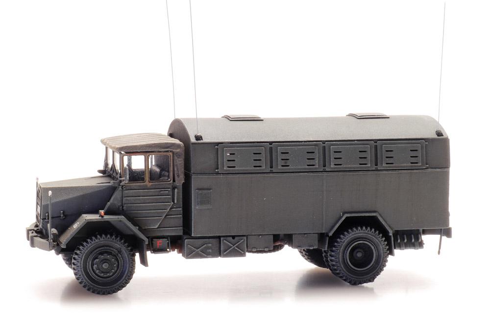 MAN 630 L2 A met Fernmelde Kofferaufbau Bundeswehr