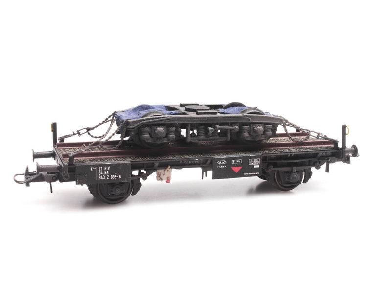 NS Arbeitswagen mit Drehgestell