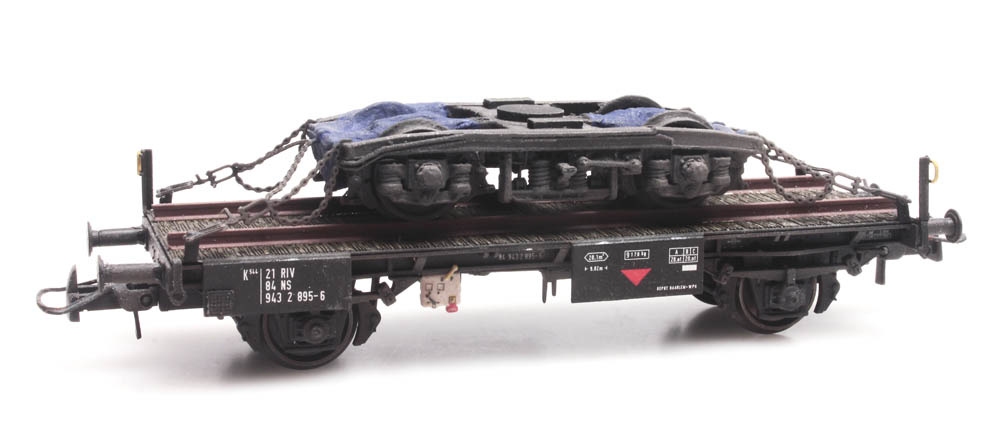 NS werkwagen met draaistel, NS 21 84 943 2 895-6