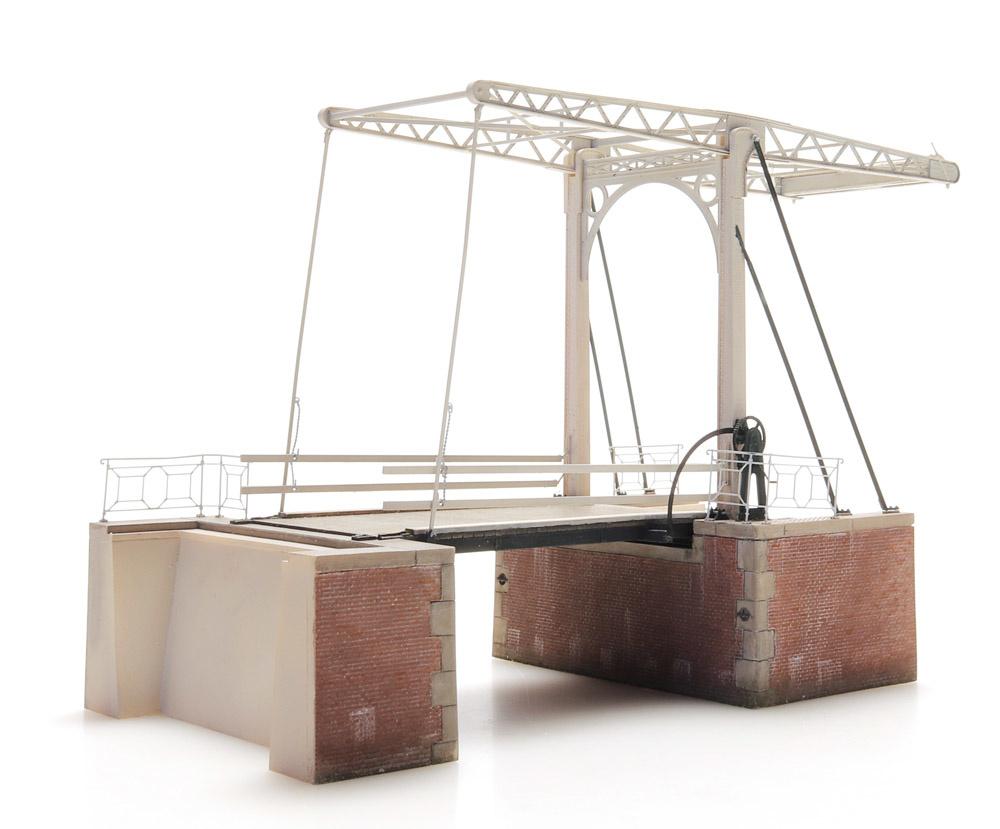 Double-beam drawbridge