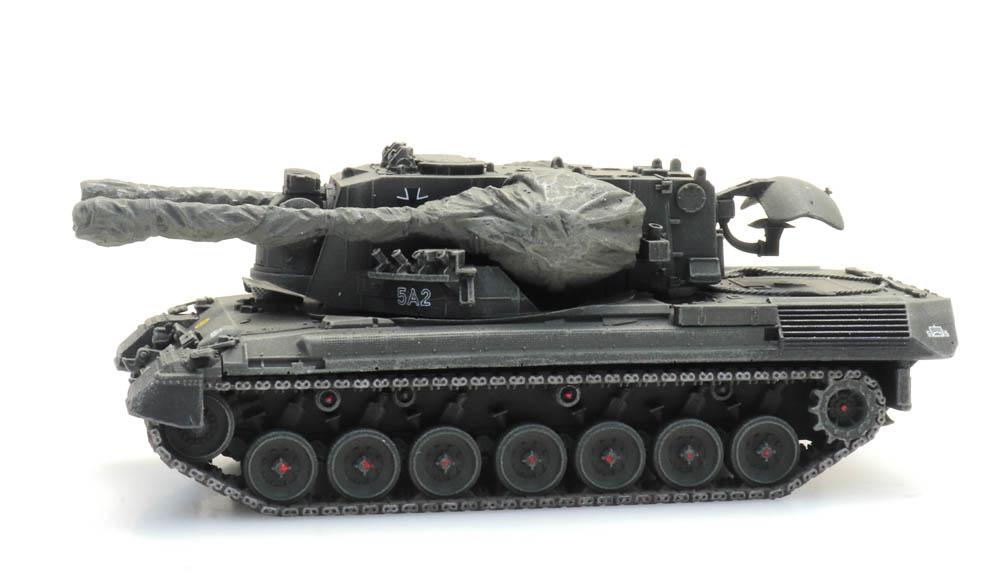 Flugabwehrkanonenpanzer 1 Gepard Eisenbahntransport