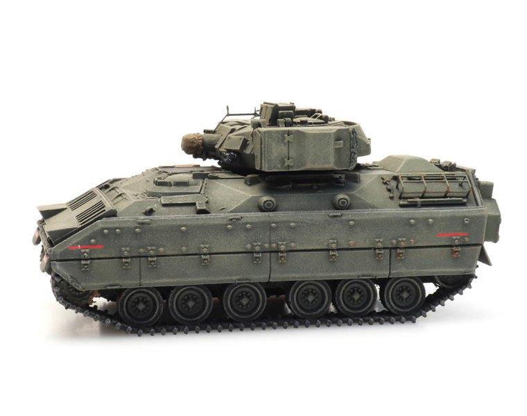 M2 IFV Bradley forest green train load