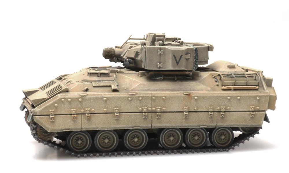 M3 CFV Bradley desert train load