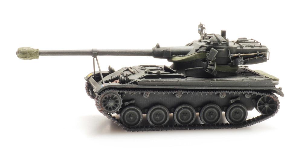 AMX 13 lichte tank treinlading