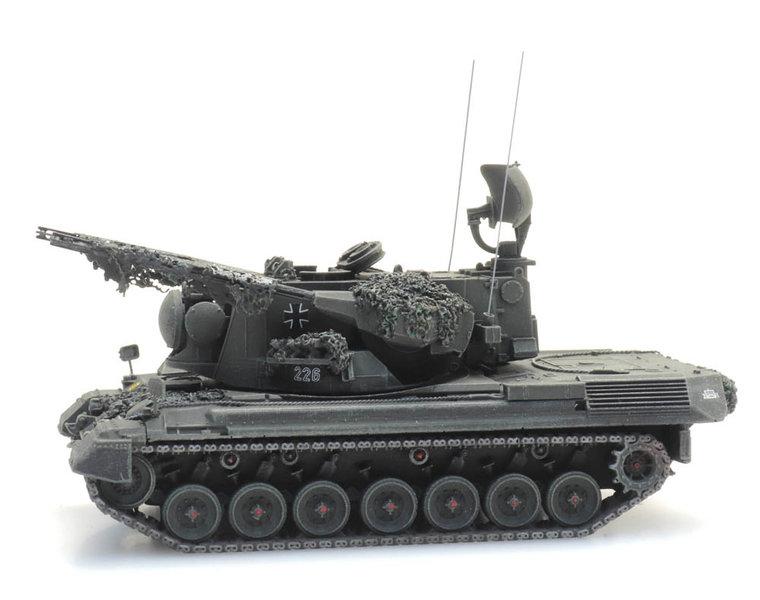 Flugabwehrkanonenpanzer 1 Gepard gefechtsklar