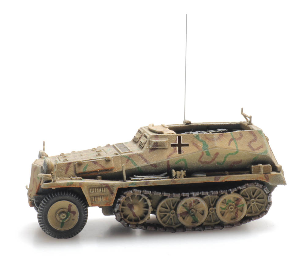 Sd.Kfz. 250/7 Tarnung