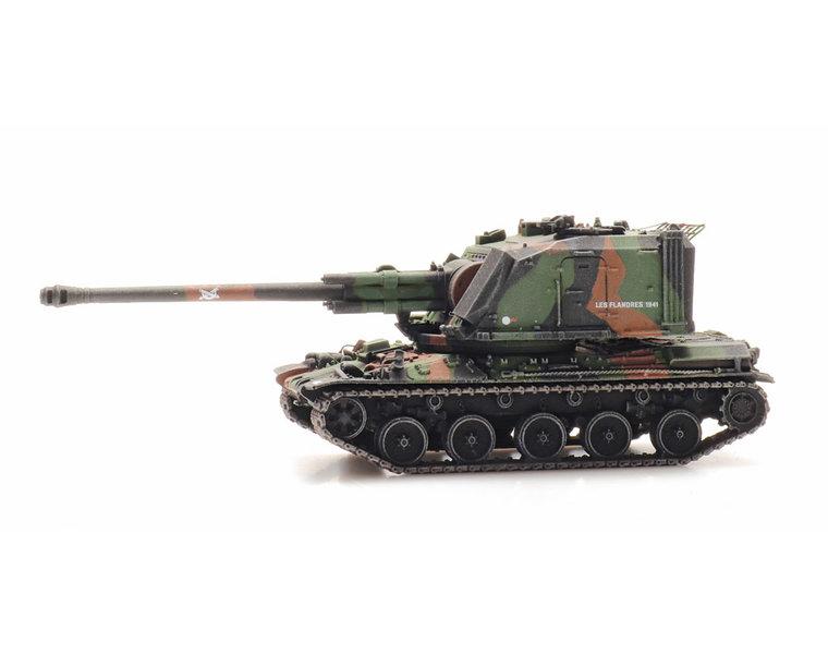 AMX 30 AUF 1 155mm camo train load