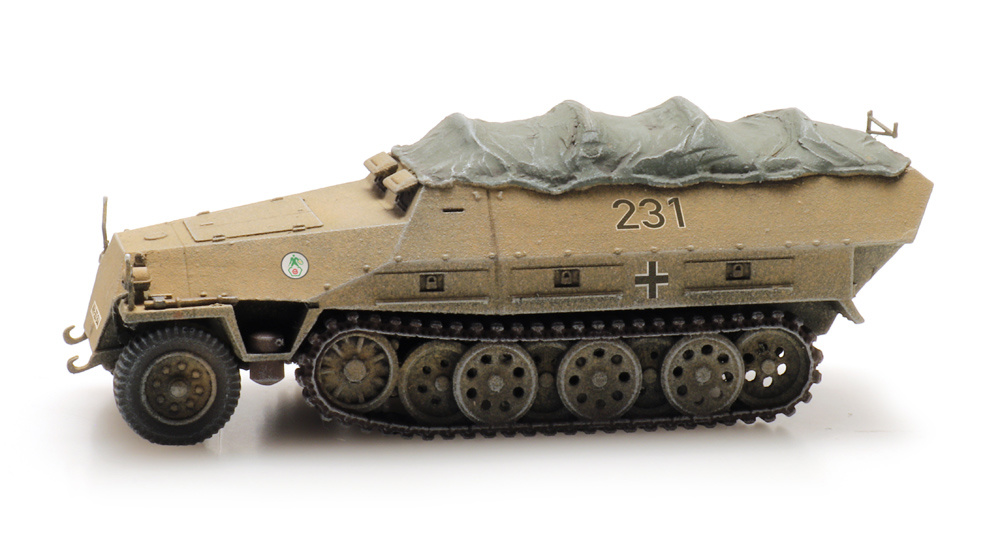 SdKfz 251 1 Ausf D Eisenbahntransport