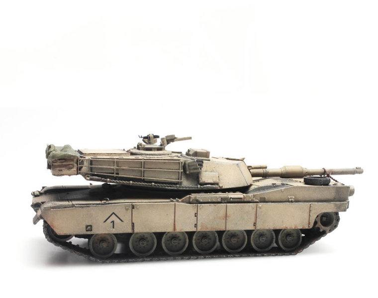 M1A1 Abrams Desert Storm train load