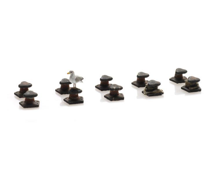 Tee bollard set (10x)