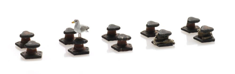Bolder set t-hoofd (10x)
