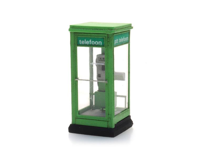 Telefooncel 1100 groen 1965-1985