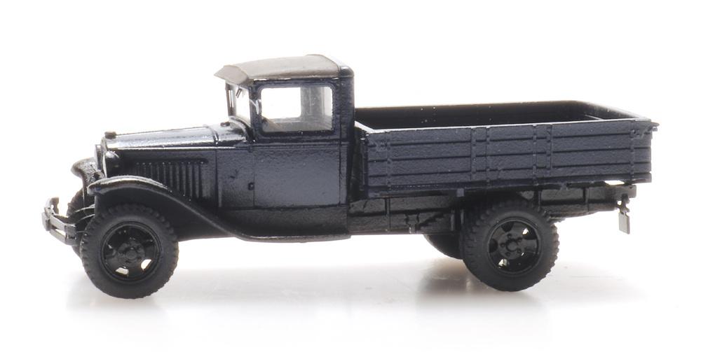 Ford Model AA open bed truck dark blue