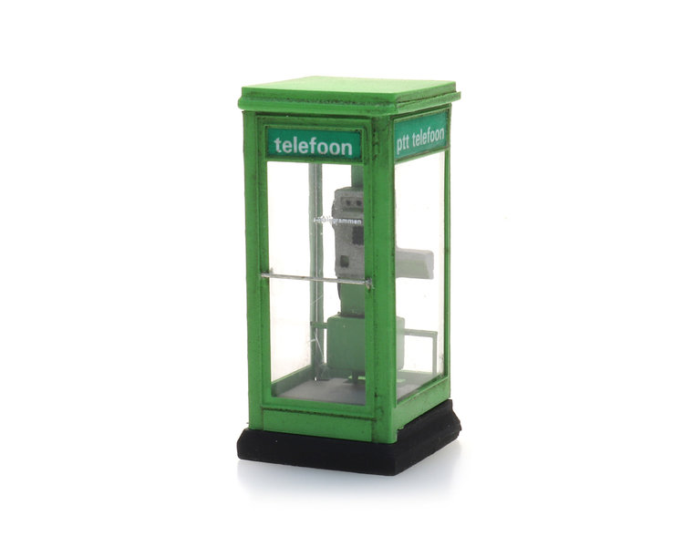 PTT green phone booth