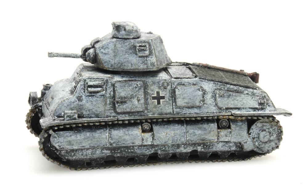 Somua S35 Beutefahrzeug Wehrmacht, Winter
