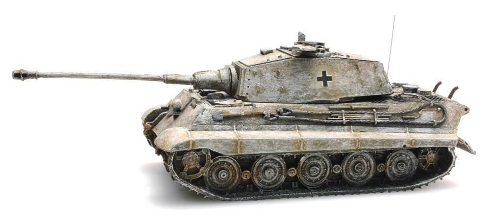 Tiger II Henschel, winter Tarnung