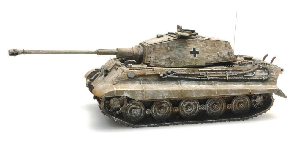 Tiger II Henschel Zimmerit, Winter