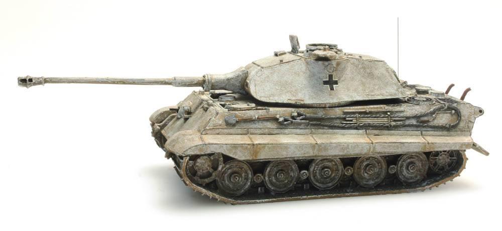 Tiger II Porsche, Winter, 1:87 ready made
