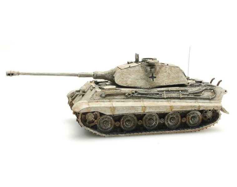 Tiger II Porsche, Zimmerit, Winter