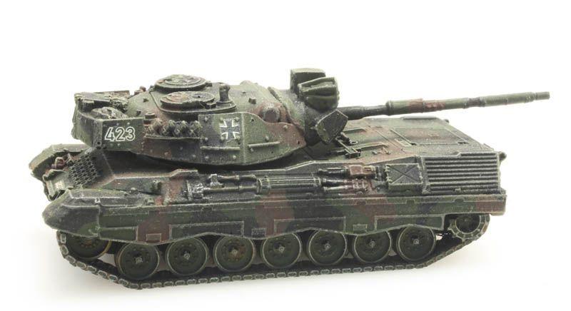 Leopard 1A1A2 Flecktarn voor treintransport