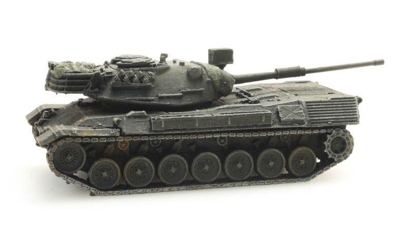 Leopard 1 for rail transport Belgian Armed Forces