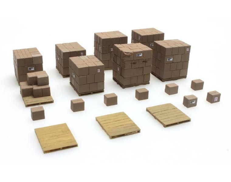 Stückgut Ladegut Karton