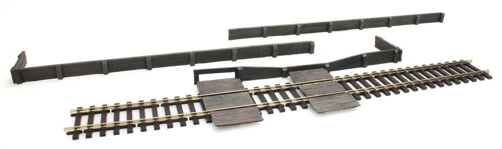 Wooden platform edge