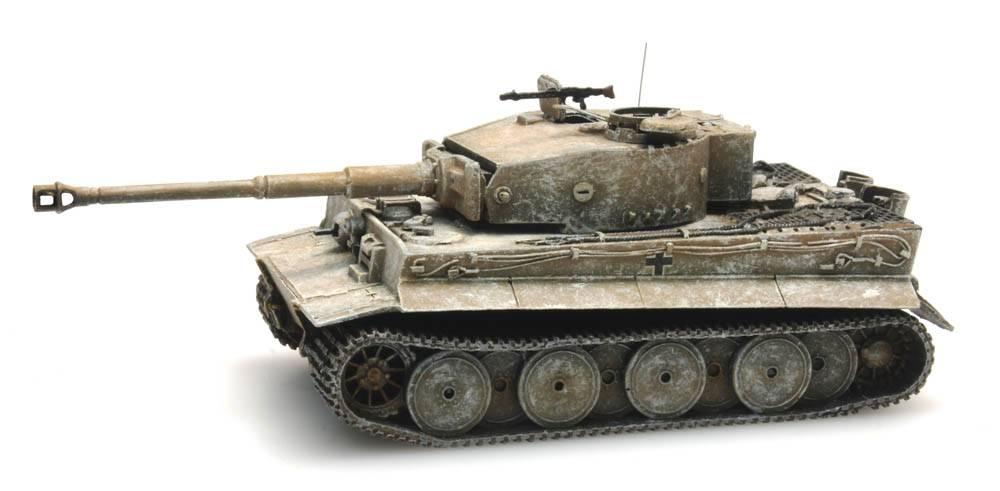 Tiger I 1943, Winter